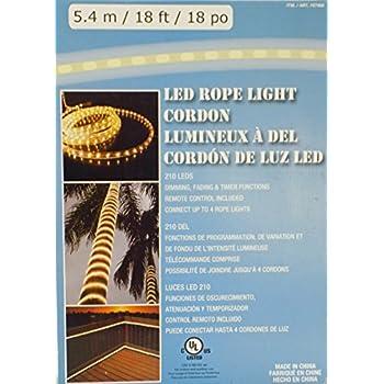 Amazon led rope light 54m18ft18po 210 leds dimmingfading led rope light 54m18ft18po 210 leds dimmingfading aloadofball Choice Image