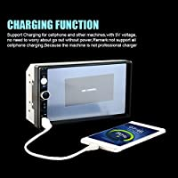 Mingruie car MP5 player with Paking camera7 Inch Screen Stereo Radio 2 DIN video Players USB/AUX/FM for car shop profess
