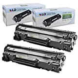 LD © HP Remanufactured CE278A (78A) Set of 2 Black Laser Toner Cartridges for the P1606dn / P1536dnf Printers, Office Central