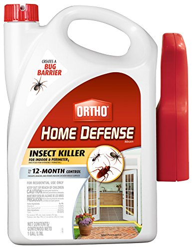 Ortho 0196710 Home Defense MAX Insect Killer Spray for Indoor and Home Perimeter, 1-Gallon (Ant, Roach, Spider