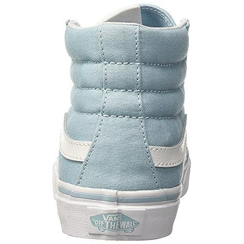 d9610f767e784c Vans Womens SK8-Hi Slim Skate Shoes Crystal Blue True White (9 Women s