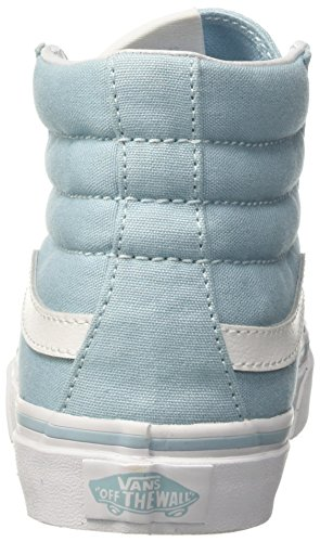 Vans UA Sk8-Hi Slim, Zapatillas Altas Para Mujer Azul (Crystal Blue/true White)