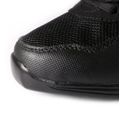 Dance Gold YFCH Men Dance Trainers Ballroom Sneakers Sneakers and Modern Boost Shoes Black Jazz Sports Women's Performance ZvwdZqxrg