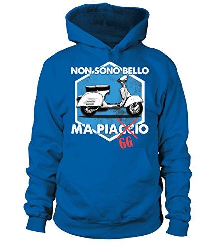 Cappuccio Piagcio Reale Felpa Con Bello Donna Uomo Teezily Ma Blu qxSwXEFg