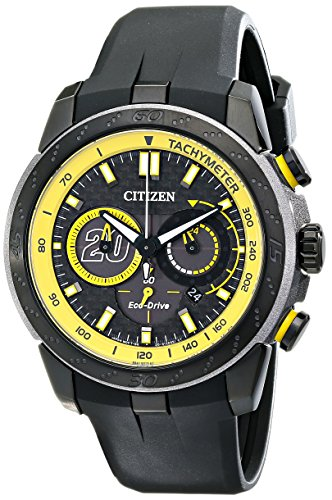 Citizen-Eco-Drive-Mens-Matt-Kenseth-Ecosphere-Limited-Edition-Black-Stainless-Steel-Watch-Model-CA4159-03E