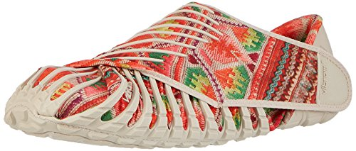 Vibram Men's and Women's Furoshiki Hmong Sneaker, Beige/Multi, EU:38-39/UK Man:4-5.5.UK Woman:6-7/cm:23.5-24.5/US Man:5-6.5/US Woman:7-8