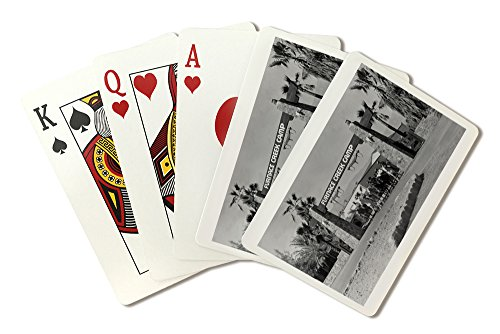 Finish Valley, California - Furnace Creek Camp and Ranch Scene (Playing Card Deck - 52 Card Poker Size with Jokers)