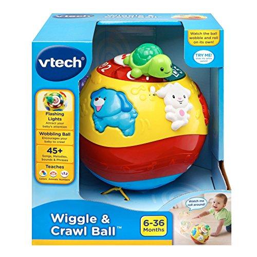 51vaj6KAIkL - VTech Wiggle & Crawl Ball Toy