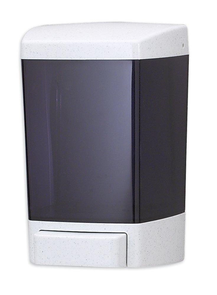 San Jamar S46TBK Classic Wall-Mount Liquid Soap Dispenser, 46 oz Capacity, Black Pearl