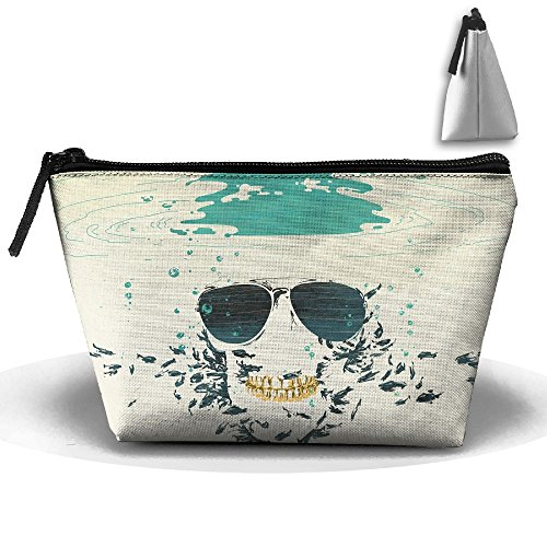 Trapezoid Portable Travel Toiletry Pouch Sunglasses-1920x1080-wallpaper Cosmetic Bags Multifunction Clutch Bag
