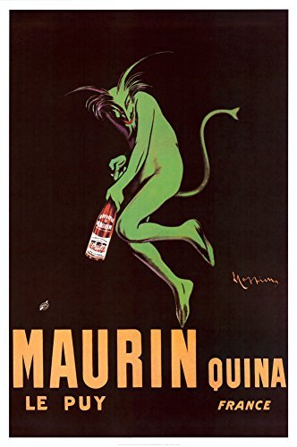 Maurin Quina 1920 Poster 24 x 36in