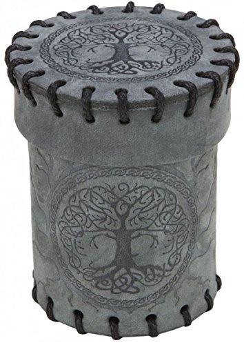 Q-Workshop Forest Graphite Suede Dice Cup [並行輸入品]   B07JBCX8WT