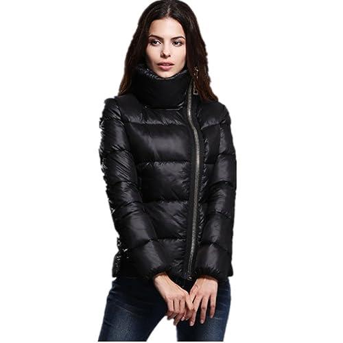 BOMOVO Cortocircuito de la chaqueta de las mujeres de moda Trench Parka Outwear Cardigan
