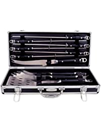 Purchase 10 Piece Barbecue Set with Case lowestprice