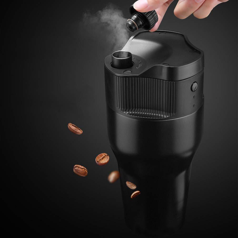 STRIR Máquina de Café Nespresso Automatic Portátil de Cápsulas, Cafetera Eléctrica Rápida Hierve Agua para Casa, Oficina, Viaje, Compatible con Cápsulas ...