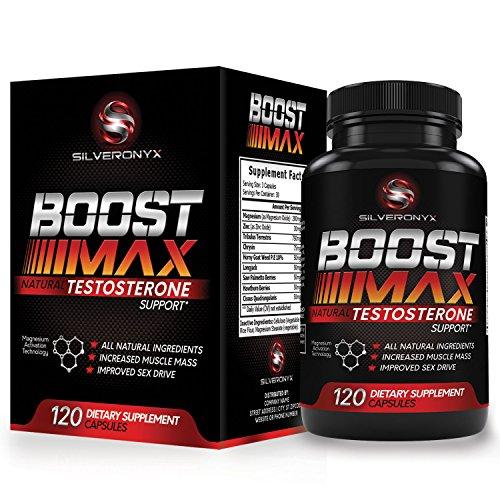 Booster de testostérone pour les Hommes - l'Augmentation de la Force, l'Endurance Et la Croissance Musculaire - Boost Max Suppléments de Testostérone, le Meilleur Naturel des Boosters Sexe Et de sexe Masculin Pilules d'Amélioration - 90 Capsules