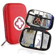 Erste Hilfe Set, Mini First Aid Kit für Notfälle in der Familie – Ideal für Zuhause Auto Reisen Camping und Outdoor…