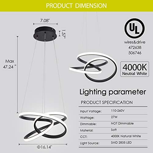 Modern LED Pendant Light
