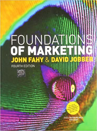 Book Foundations of Marketing