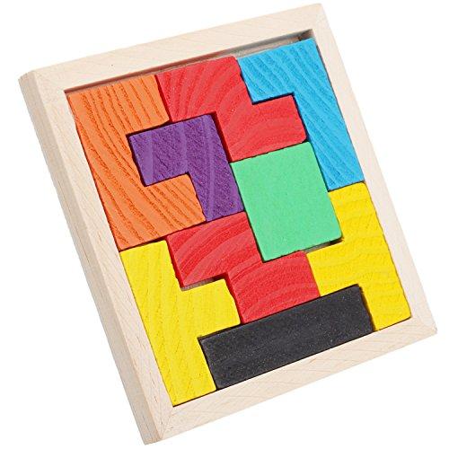 Refaxi 9テトリスファンシーアーリー教育ビルディングブロックおもちゃジグソーパズル