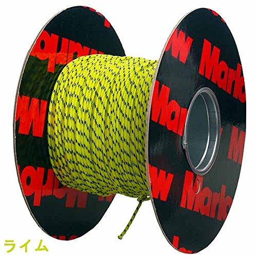 障害者練る病気Marlow(マーロー) NEWエクセルレーシング(ダイニーマロープ) 2mm【メーター売り】