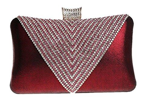 C&T Equipaje de cabina, color Rosa, talla Rojo - granate (Wine red)