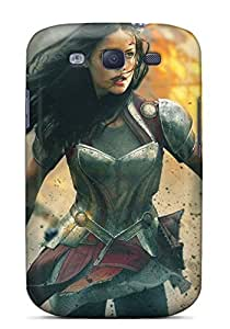 Snap-on Jaimie Alexander In Thor 2 Case Cover Skin Compatible With Galaxy S3
