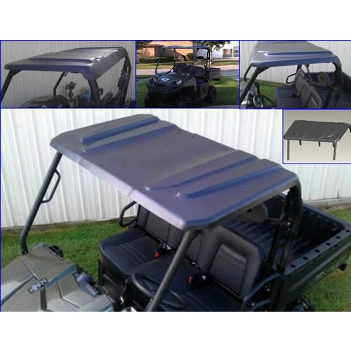 Extreme Metal Products Cooter Brown Universal UTV Top. Ranger, Rhino, Teryx, Mule, Bobcat, and Rustler. See Desription for Application. Thick Polyethylene. 11089