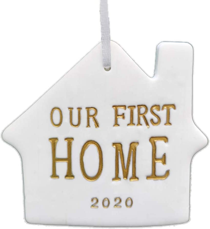 DiDida Our First Home Christmas Ornament 2020 Housewarming Gift
