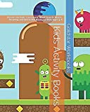 Kids Activity Books: Puzzles for Kids: Crossword, Word Search, Mazes, Drawing and Dot to Dot Books for Kids Ages 4-8