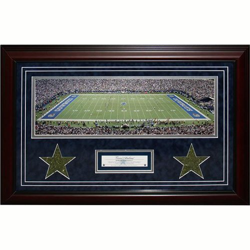Steiner Sports NFL Dallas Cowboys Texas Stadium Framed 18x29 Turf Collage by Steiner Sports
