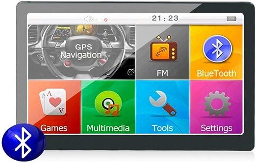 XMZWD 7 Pulgadas HD Sistema Android Camping Coche/Camión/Vehículo Navegación GPS, con Incorporado En 8GB/ Teléfono Bluetooth/Control del Volante / Mp3 - Reproductores Mp4, GPS Coches: Amazon.es: Hogar