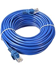 Cat 6 Network Cable UTP, Length of 15 m, Blue