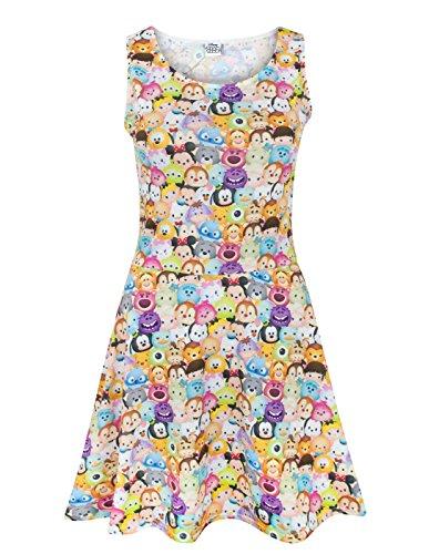 Disney Tsum Tsum Women's Skater Dress (Womens Disney Dress)
