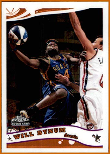 2005-06 Topps Chrome #225 Will Bynum D-League RC ROOKIE GEORGIA TECH YELLOW JACKETS DAZZLE