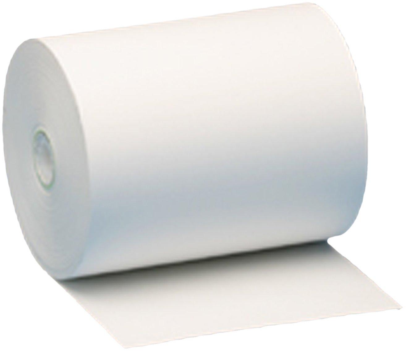 Nashua 4-3/8'' x 328' Thermal Cash Register Receipt Paper, standard 48-gram, 24 Rolls