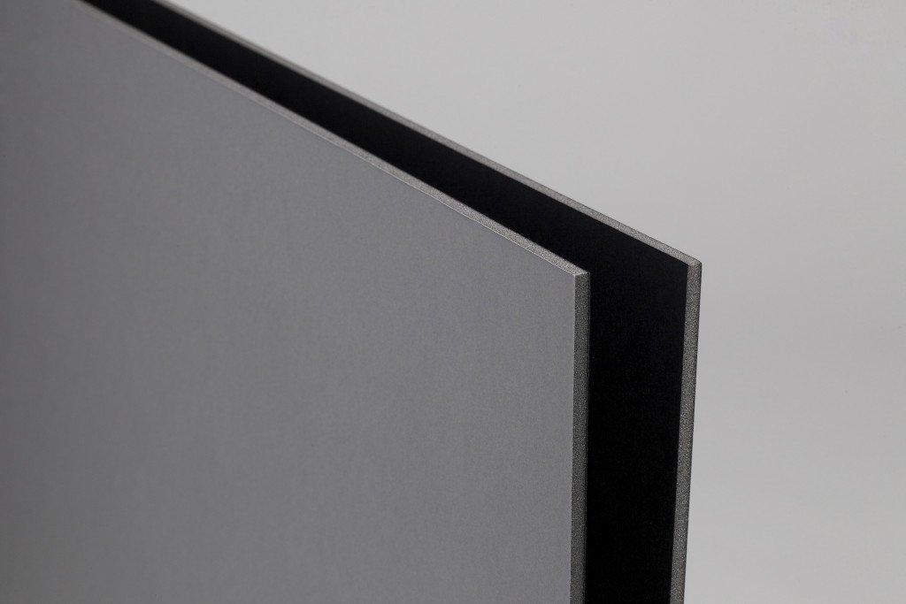 Foamboard nero/grigio A3 spessore 5mm - scatola da 10 pezzi Airplac