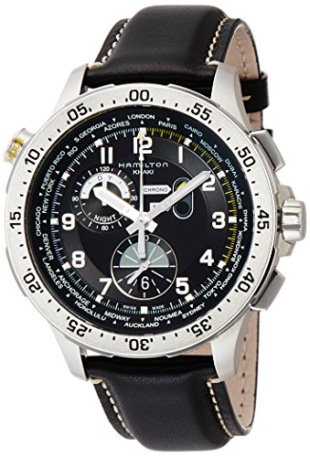 Hamilton Black Wrist Watch - 8