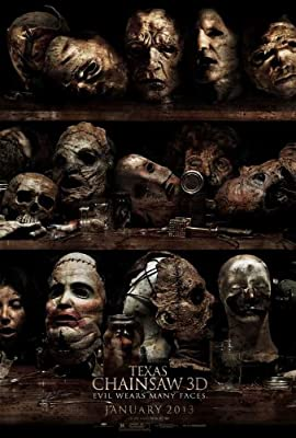 Texas Chainsaw 3D (2013) 27 x 40 Movie Poster - Style B
