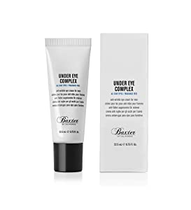 Baxter of California Under Eye Cream for Men, Depuffing and Line Reducing, Unscented