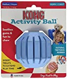 KONG Puppy Activity Ball Dog Toy, Medium, Colors may Vary