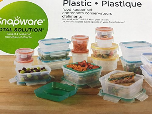 (Snapware Plastic Food Storage Set 38pc)