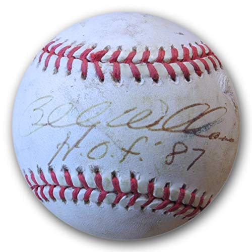 Billy Williams Signed Autographed NL Baseball Cubs A's