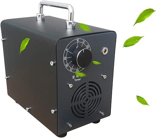 Fira Woo 5000mg / HR generador de ozono portátil esterilizador purificador de Aire ozonizador, máquina de ozono para el hogar, Coche: Amazon.es: Hogar