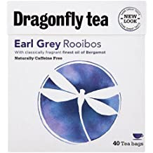 Dragonfly Tea - Earl Grey Rooibos Tea | 40 Bag by DRAGONFLY TEAS