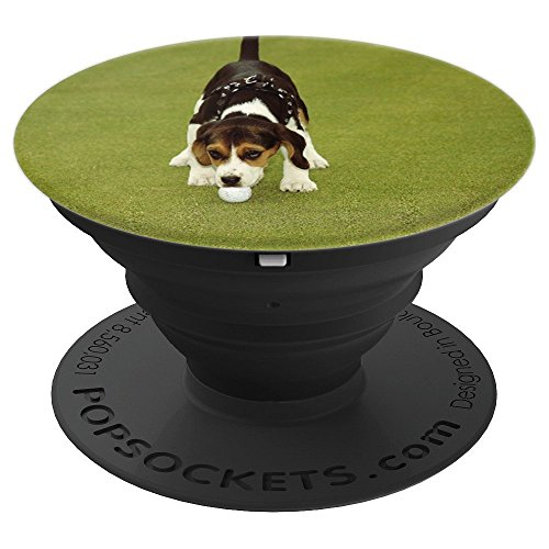 PopSockets Grip Sports Golfing Beagle Game Ball Golf Design - PopSockets Grip and Stand for Phones and ()