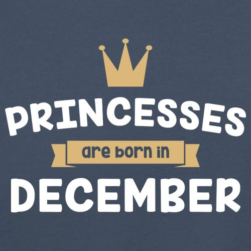 Baby//Toddler T-Shirt 3-24 Months Princesses are Born in December