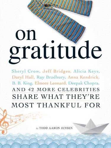 On Thanks: Sheryl Crow, Jeff Bridges, Alicia Keys, Daryl Hall, Ray Bradbury, Anna Kendrick, B.B. King, Elmore Leonard, Deepak Chopra, and 42 More Celebrities Divide up What They're Most Thankful For