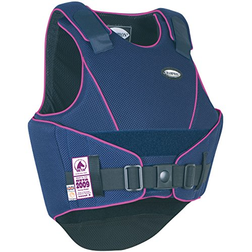 Champion Flexair Body Protector Body Protector X Large Long Navy/Purple