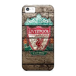Defender Case With Nice Appearance (famous Football Club Liverpool) For Iphone 5c by lolosakes